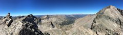 Pano of all summits taken from Pagoda.