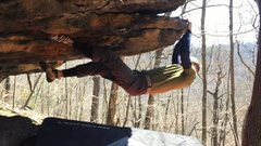 Rock Climbing Photo: Finish on giant lip