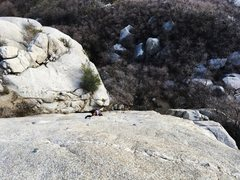 Rock Climbing Photo: Picture taken from Hand Jive chains.
