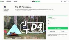 Rock Climbing Photo: D4 Portaledge Kickstarter