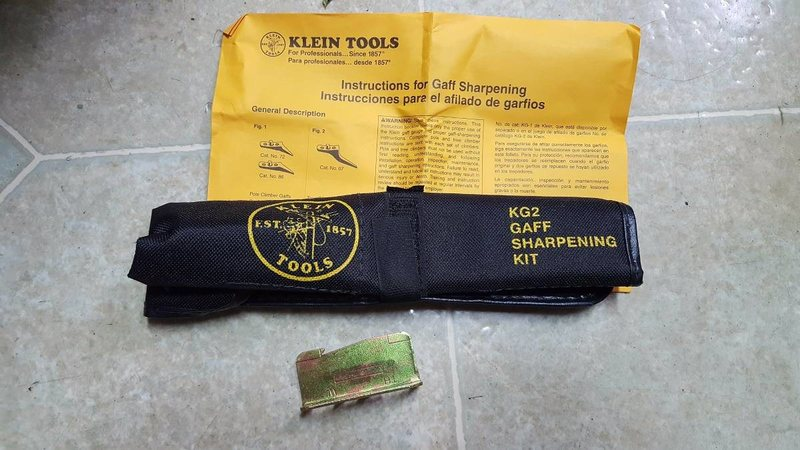 Klein Tools Gaff Sharpening Kit KG2