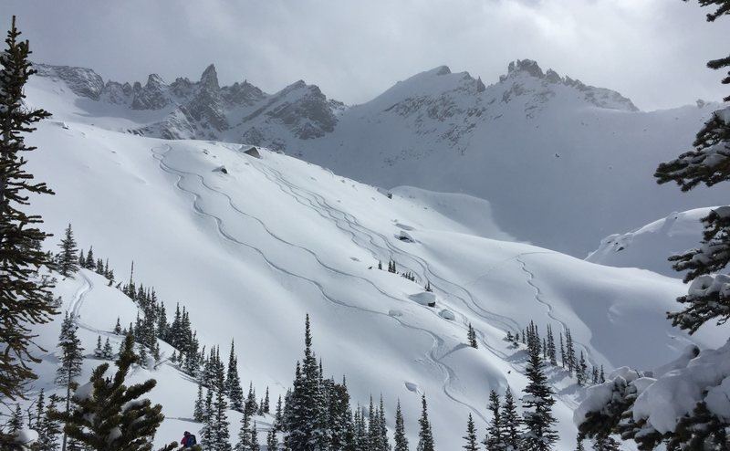Adamant Range, British Columbia. Photo: Roanne Mayer