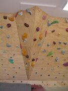 Rock Climbing Photo: Shop Wall #4- Arete feature