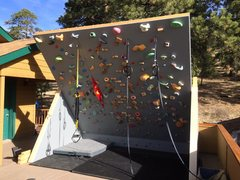 Rock Climbing Photo: Freestanding Wall - Accessorized
