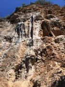 Rock Climbing Photo: That's one huge tufa!