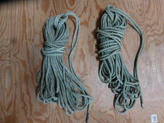 Rock Climbing Photo: 2 30m gym ropes