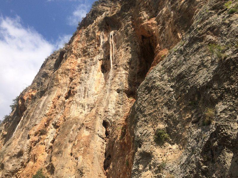 Rock Climbing Photo: View of the crag