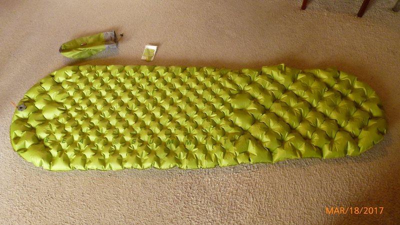SeatoSummit mattress