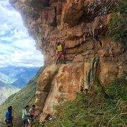 Rock Climbing Photo: The start!