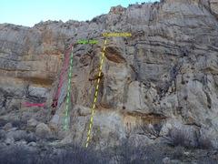 Rock Climbing Photo: Clean Slate Wall
