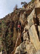 Rock Climbing Photo: Al on Hard Cider.