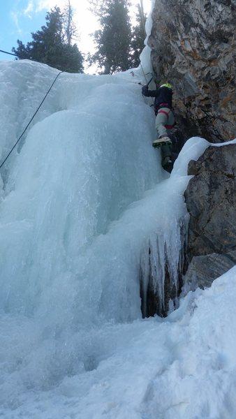 ice at Moffatt Tunnel