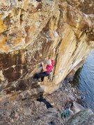 Rock Climbing Photo: Al again.