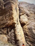 Rock Climbing Photo: Showing most of the climb - at the rest before the...