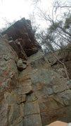 Shot of the climb