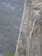 Rock Climbing Photo: Recognized some friends on Sparerib from midway up...