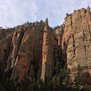 Rock Climbing Photo: Insomnia canyon (Fall 16')