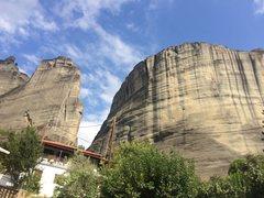 Rock Climbing Photo: North end of Kalabaka
