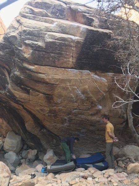 Rock Climbing Photo: Wet dream boulder