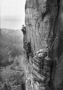 Rock Climbing Photo: Hardcore