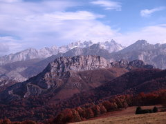 Rock Climbing Photo: European peaks from redes park in fall