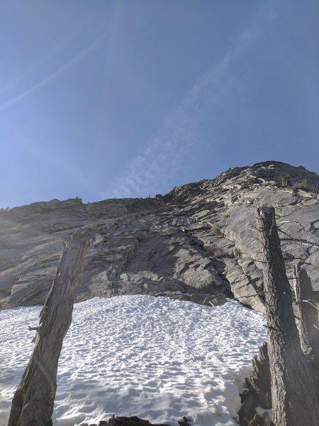 Rock Climbing Photo: North side