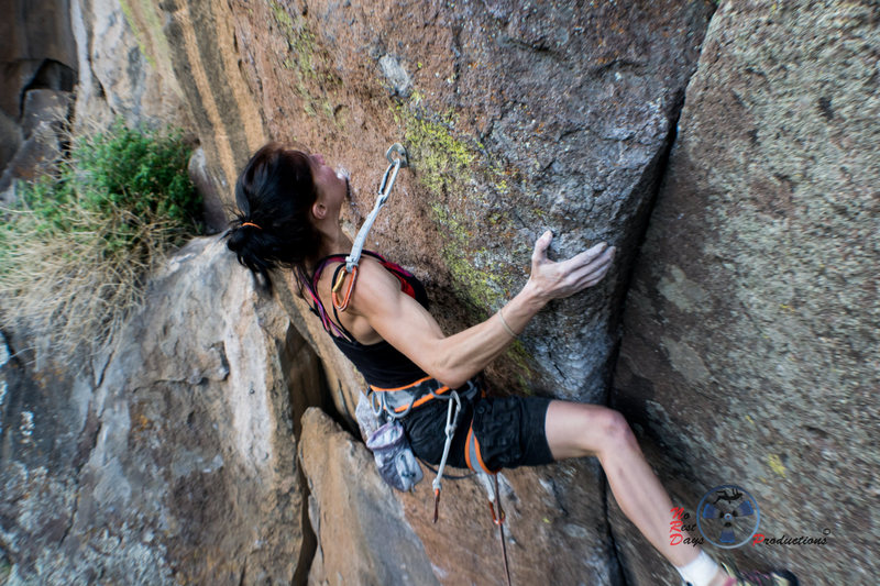 Rock Climbing Photo: Oh boy!