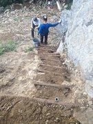 Rock Climbing Photo: Tick Rock Restoration Project. The Climbing commun...