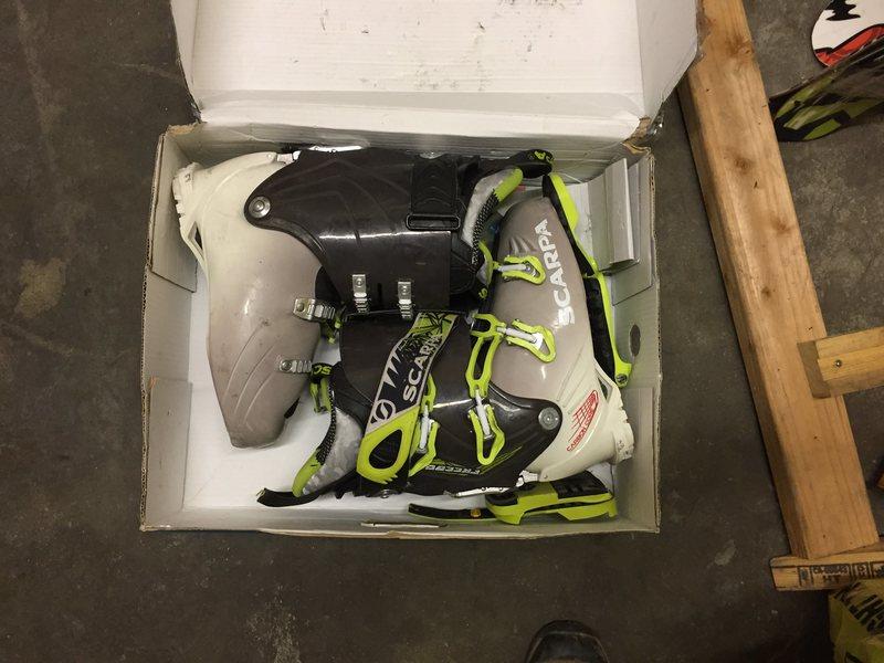 Rock Climbing Photo: Scarpa Freedom boots