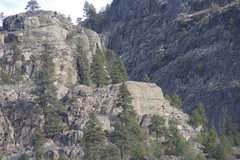 Rock Climbing Photo: South End from Hwy 97