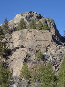 Rock Climbing Photo: The Three tiers from the south