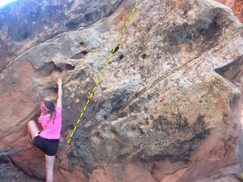 Carolyn susses out the start of Worth Nebraska (V1)