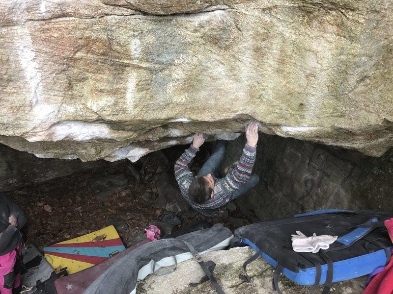 Rock Climbing Photo: Liam