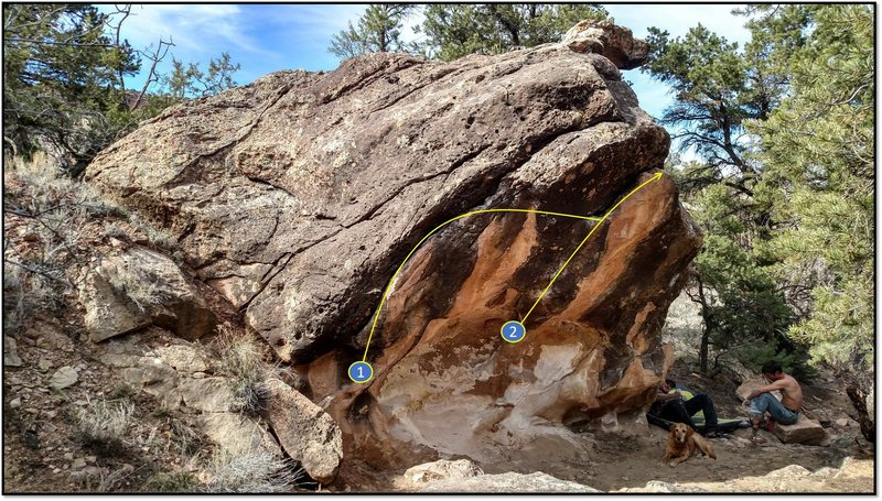 Rock Climbing Photo: 2. First half of Minnesota Nice, see the other bet...