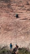 Rock Climbing Photo: Solar slab