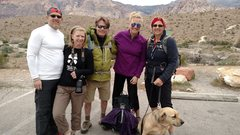 Rock Climbing Photo: Coincidental meeting other WI peeps!