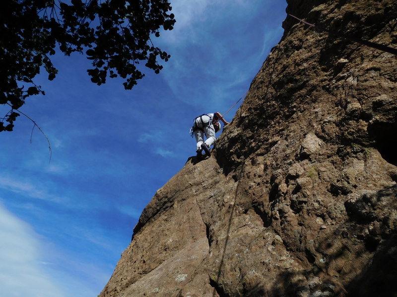 Rock Climbing Photo: Captain Morgan's Pair It.