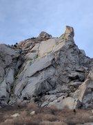 Rock Climbing Photo: Thumb topo
