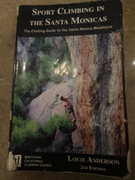 Louie Anderson's 2nd Edition of Sport Climbing in the Santa Monicas.
