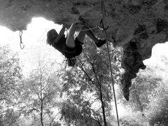 Rock Climbing Photo: Cheeky Fucker