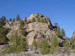 Rock Climbing Photo: Bowsaw Ridge - South End