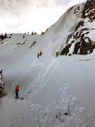 Rock Climbing Photo: in Scottish conditions