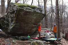 Rock Climbing Photo: Chorner