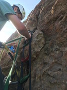 Rock Climbing Photo: FA via TR. this thing is LOOSE