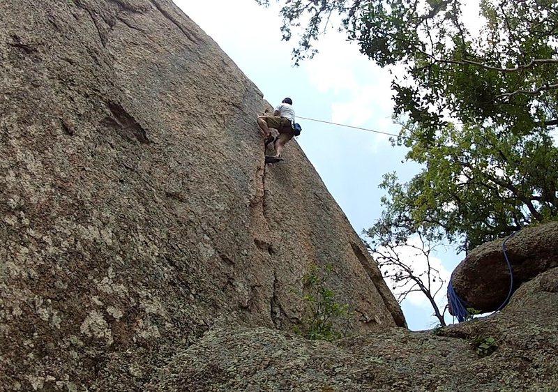 Rock Climbing Photo: Top roping Little Feet