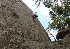 Rock Climbing Photo: Top roping Little Feet