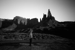 Rock Climbing Photo: Link up of Washer Woman and Monster Tower with Bry...