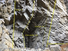 Rock Climbing Photo: The Hantavirus Cave