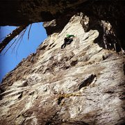 Rock Climbing Photo: Alec on the second assent. Doesn't show in thi...