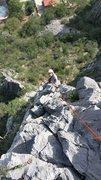 Rock Climbing Photo: following up Libertad